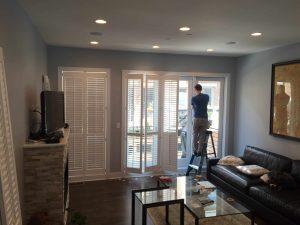 In-home shutter consultation in Philadelphia