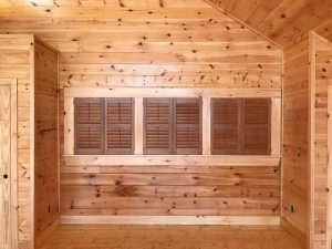Black Plantation Shutters and Other Custom Design Options