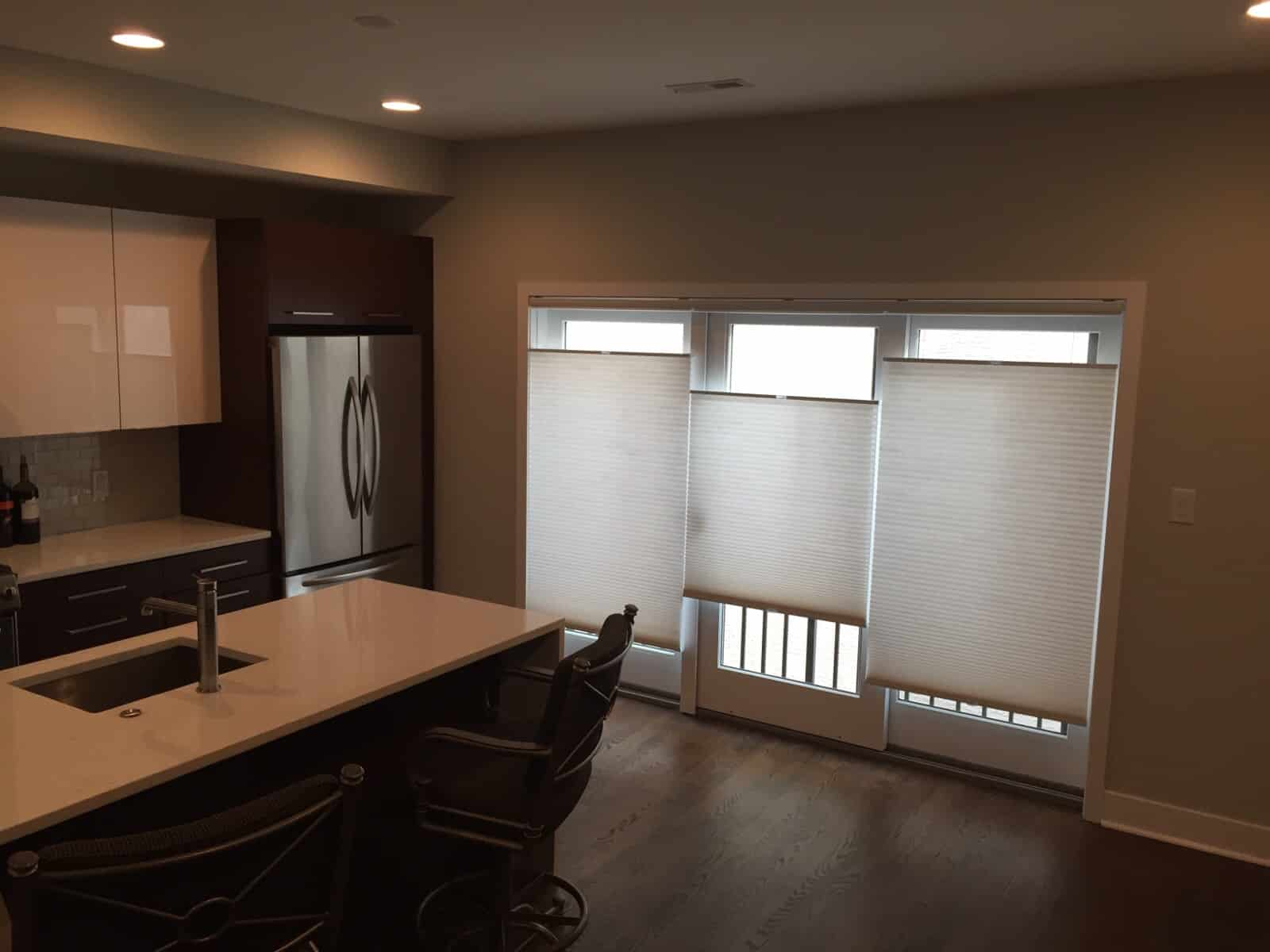 how to clean cellular shades and get them looking brand new. Black Bedroom Furniture Sets. Home Design Ideas