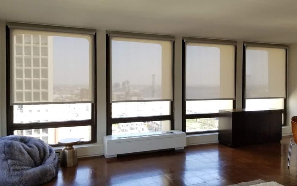 powered window blinds