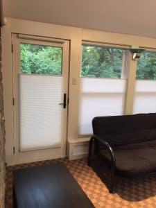 honeycomb blinds noise reduction