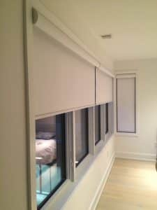 automatic bedroom blinds