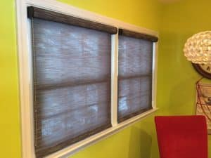 blinds to keep room cool
