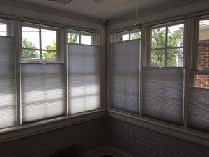 do light filtering shades block heat