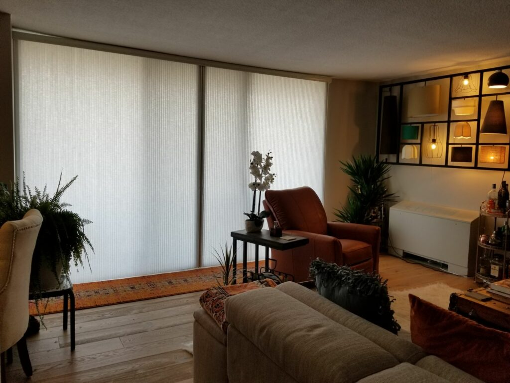 are light filtering shades private