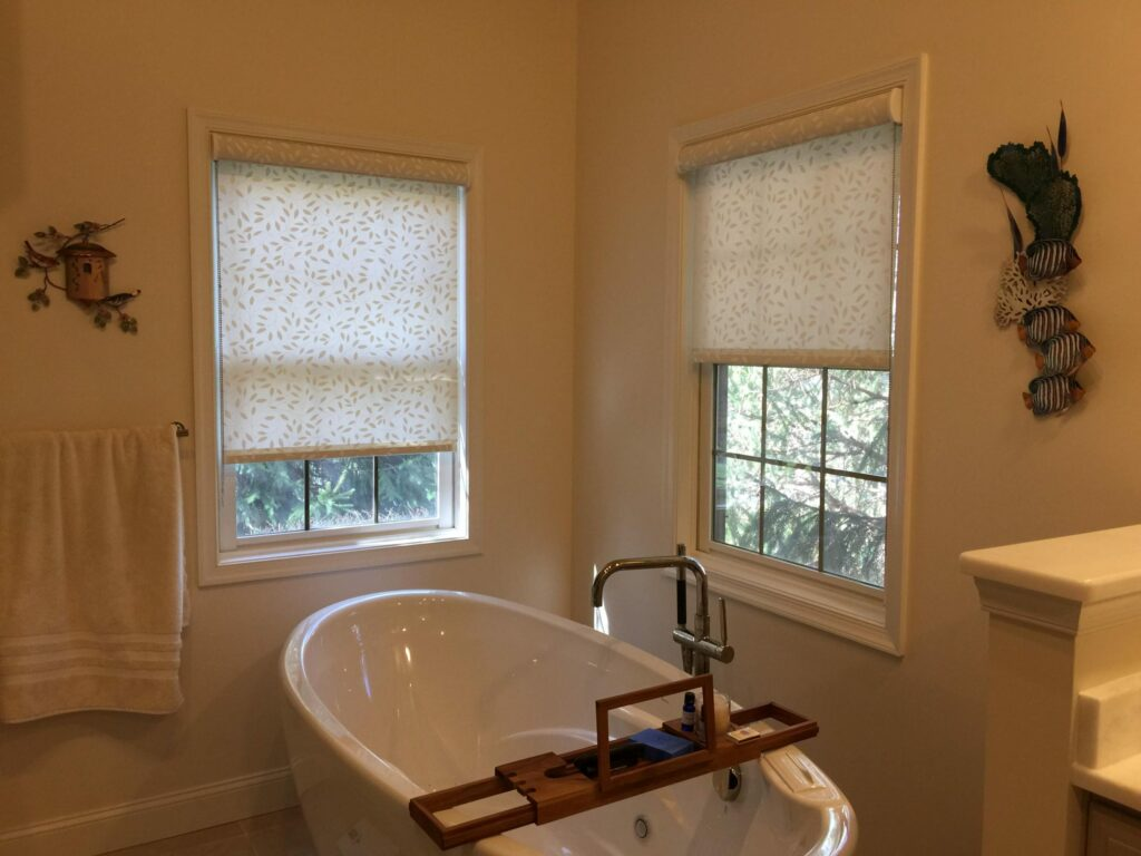 best window treatment for bathroom